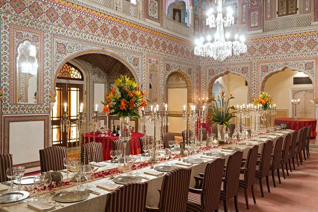 Samode Palace Jaipur India Durbar Hall 1