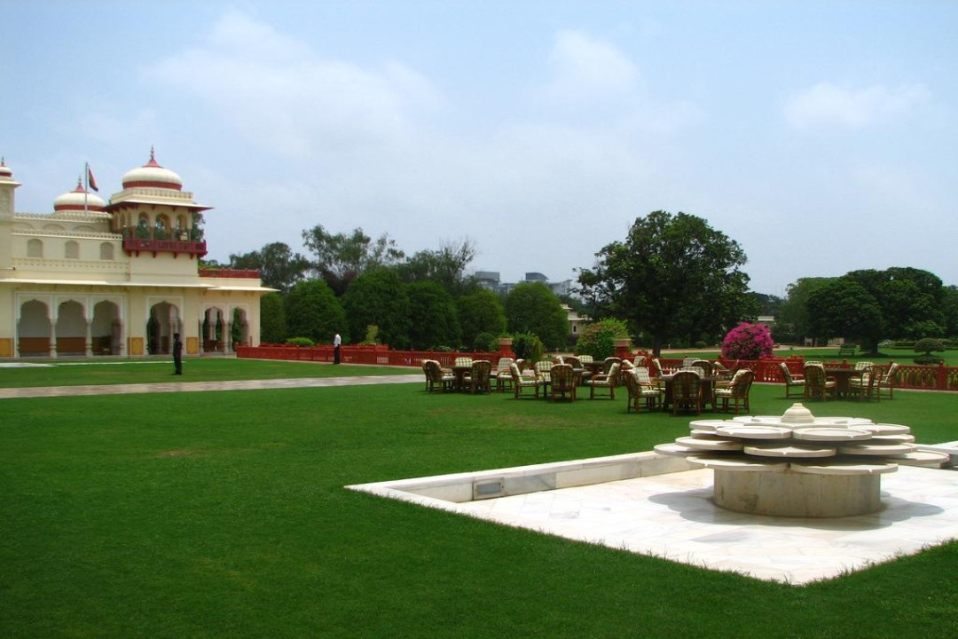 Taj Rambagh Palace Jaipur India Naksha Garden Lawns 1