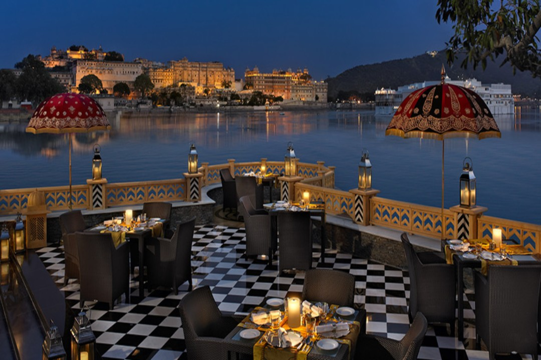 The Leela Palace Udaipur India Marwar Terrace 1