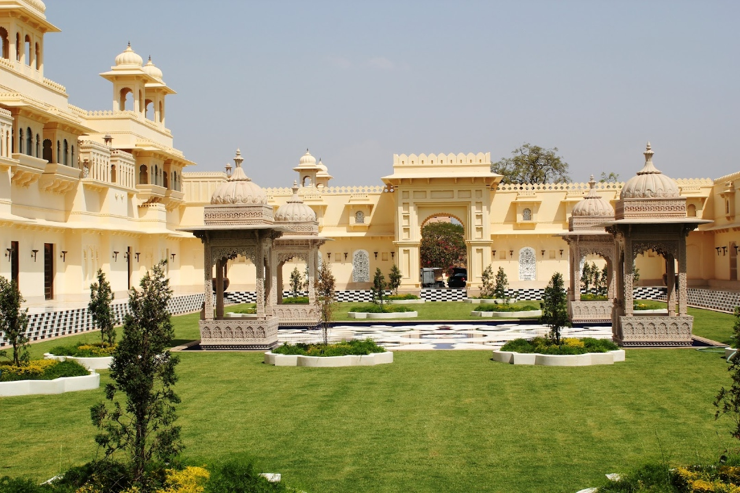 The Oberoi Udaivilas Udaipur India Crescent Garden 1
