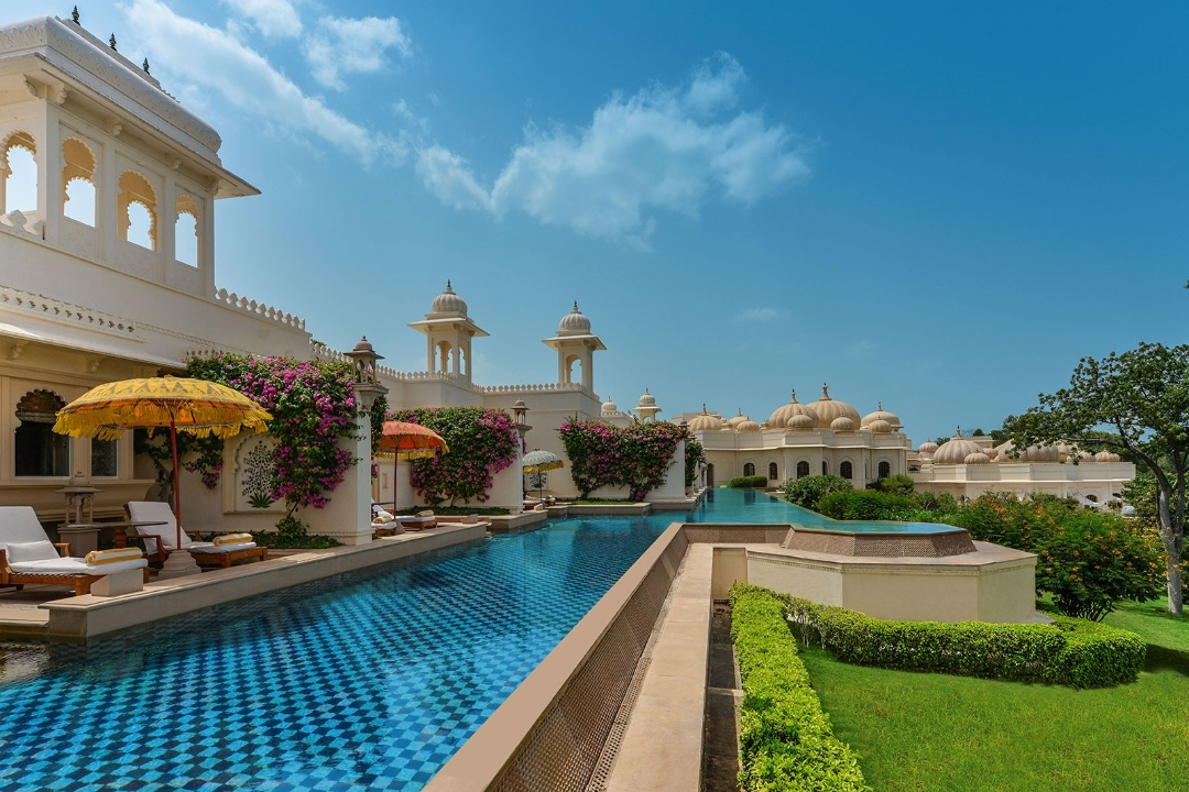 The Oberoi Udaivilas Udaipur India Poolside 1