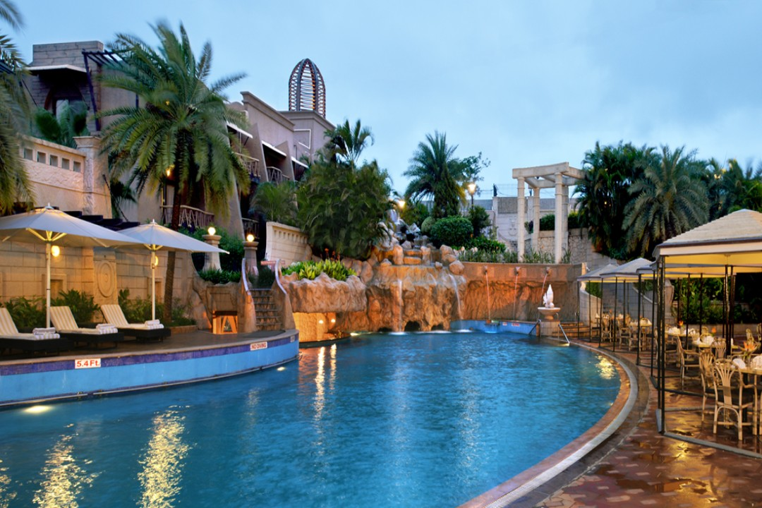 Corinthians Resort n Club Pune India Poolside 1
