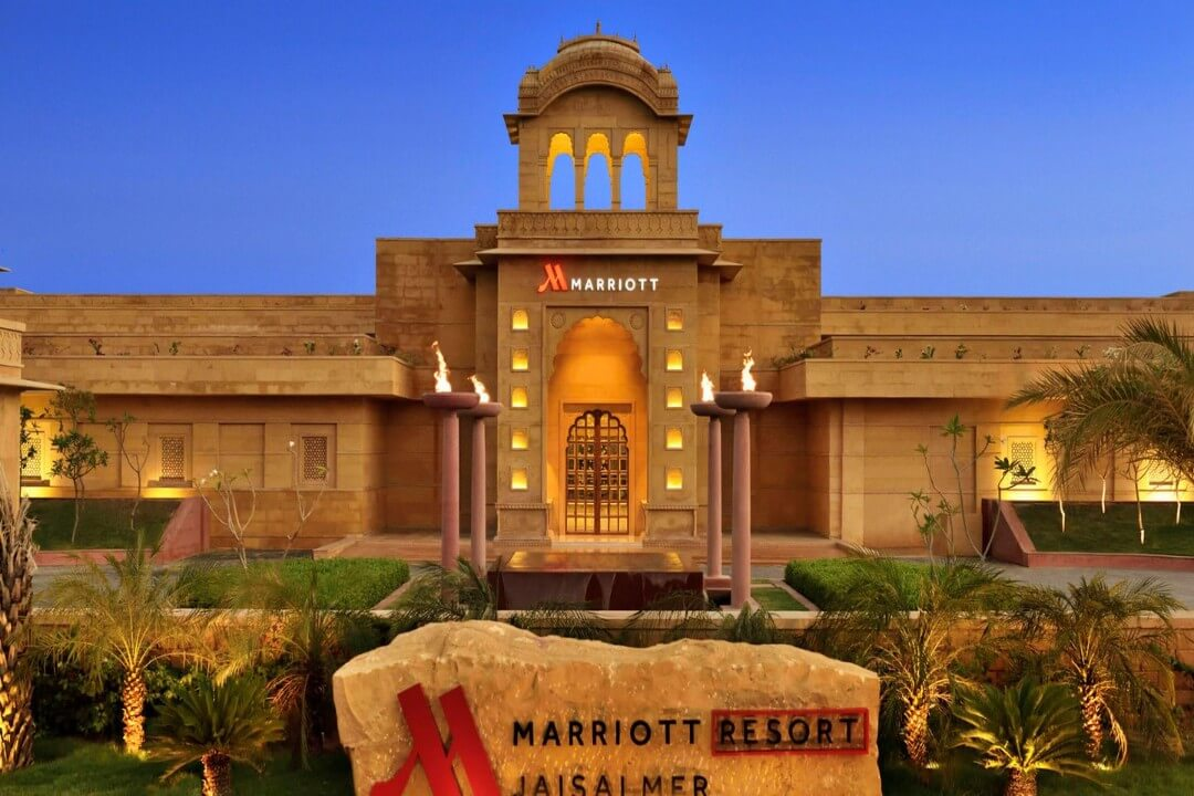 Jaisalmar Marriott Resort n Spa Jaisalmer India 1