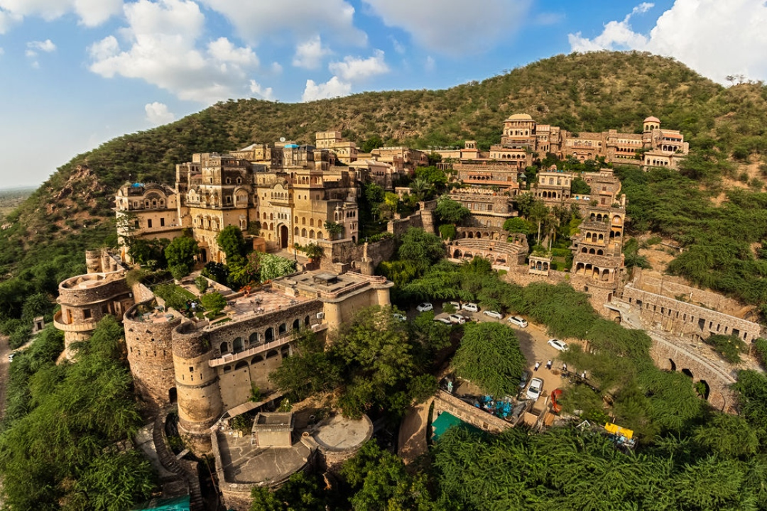 Neemrana Fort Palace Rajasthan India 1