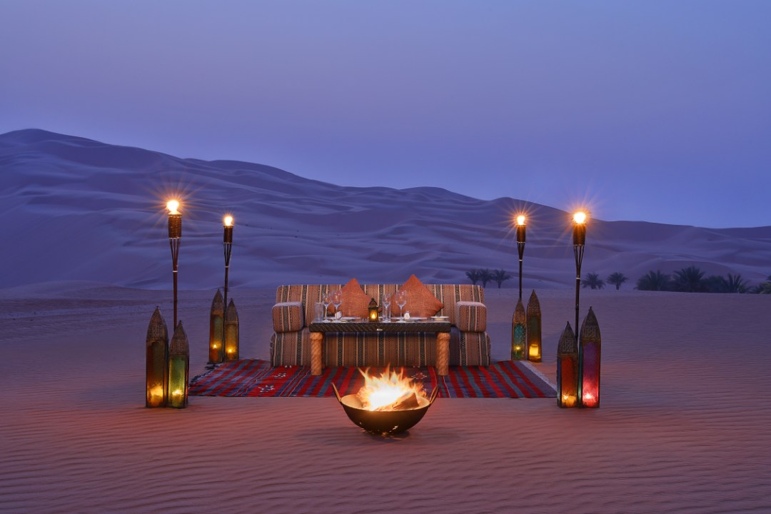 Qasr al Sarab Desert Resort Abu Dhabi UAE Dining by Design 1