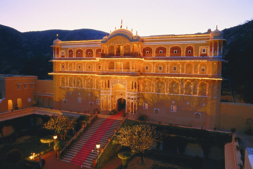 Samode Palace Jaipur India 1