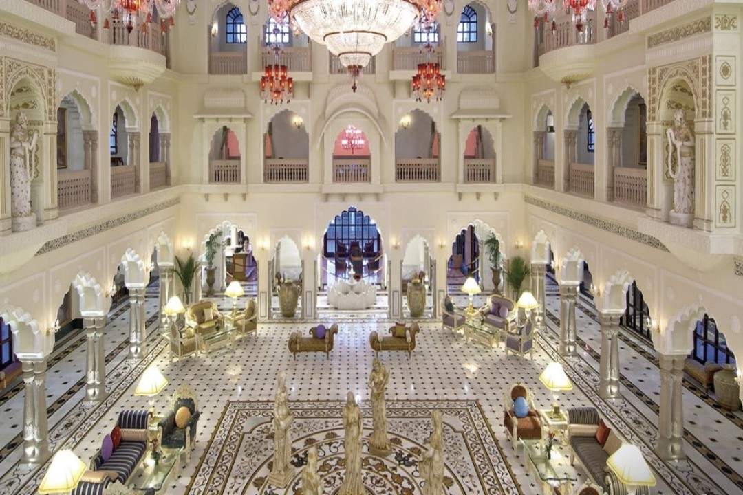 Shiv Vilas Resort Jaipur India Grand Lobby 1