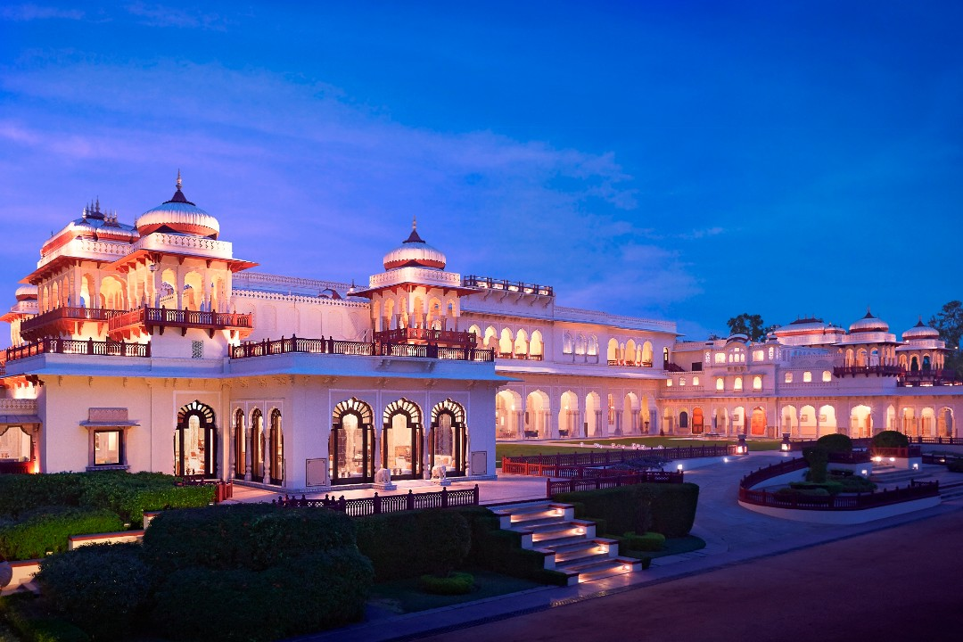 Taj Rambagh Palace Jaipur India 1