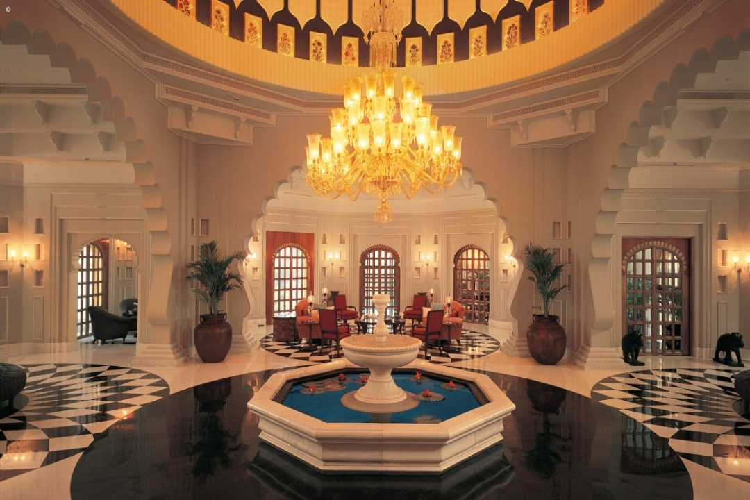 The Oberoi Udaivilas Udaipur India Lobby 1