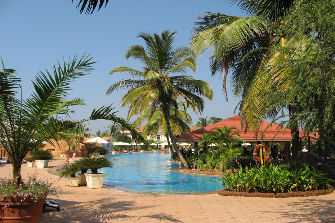 The Zuri White Sands Goa India Poolside 1