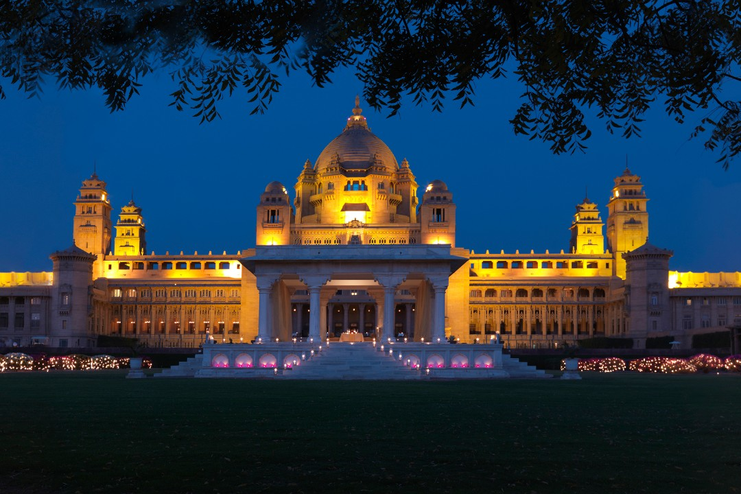 Umaid Bhawan Palace Jodhpur India 1