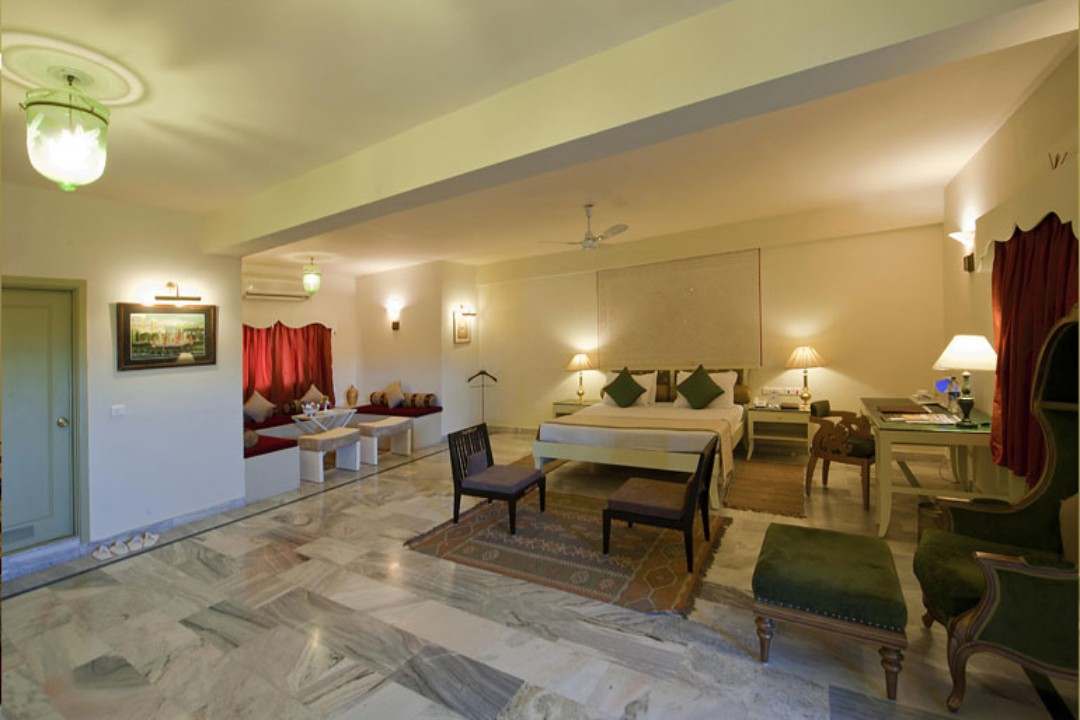Fort Rajwada Jaisalmer India Deluxe Executive Suite 1