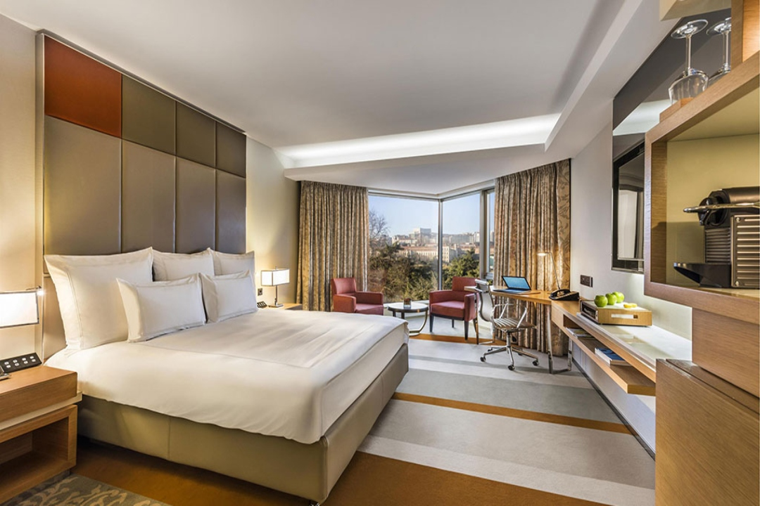 Swissotel The Bosphorus Istanbul Turkey Swiss Advantage Garden View Room 1