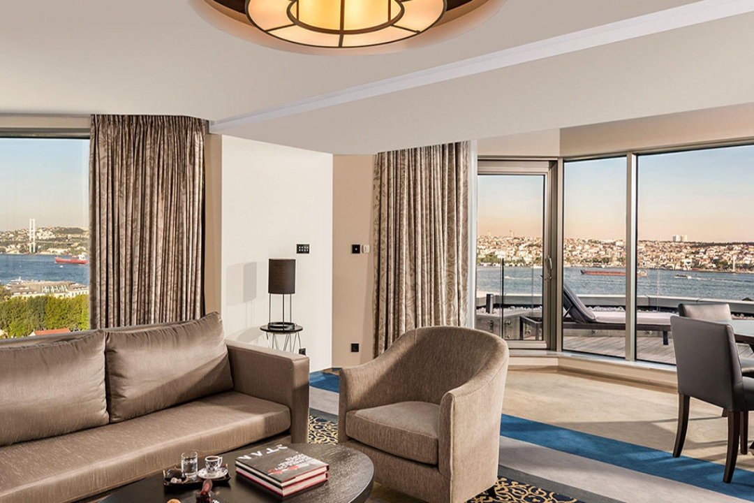 Swissotel The Bosphorus Istanbul Turkey Executive Terrace Suite 1