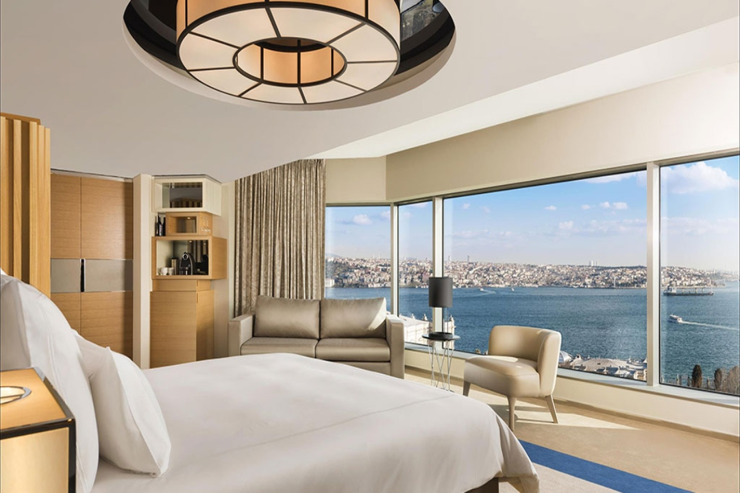 Swissotel The Bosphorus Istanbul Turkey Corner Room Bosphorus 1
