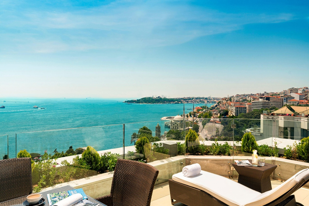 Swissotel The Bosphorus Istanbul Turkey Ambassador Suite 1