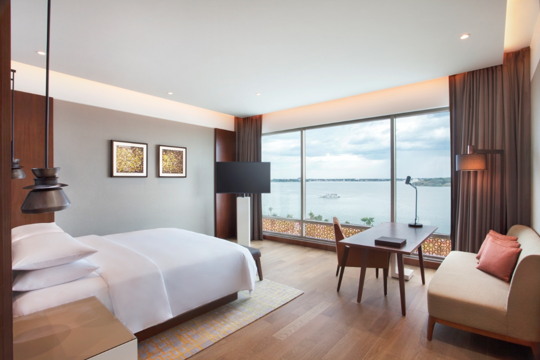 Grand Hyatt Kochi Bolgatty Kerela India Grand View Room 1