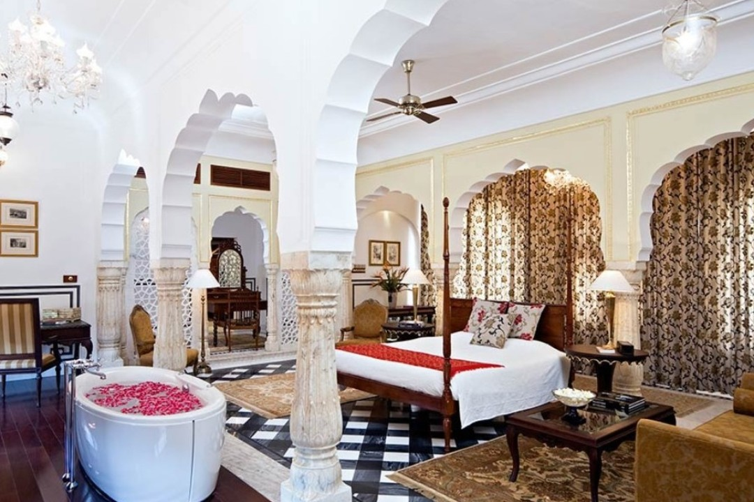 Samode Palace Jaipur India Deluxe Rooms 1