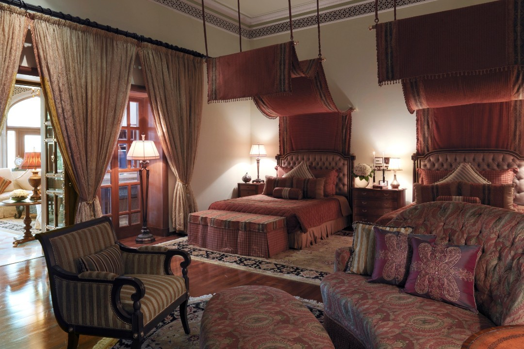 Taj Rambagh Palace Jaipur India Grand Royal Suite 1