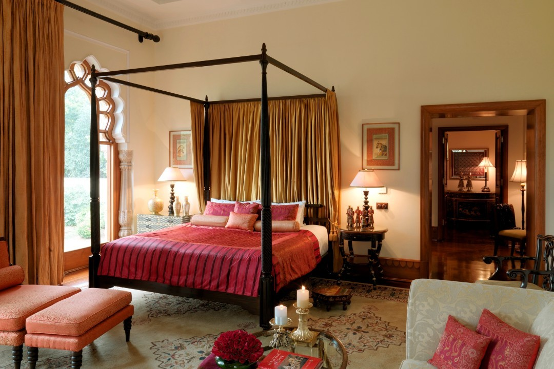 Taj Rambagh Palace Jaipur India Grand Presidential Suite 1