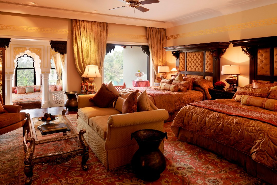 Taj Rambagh Palace Jaipur India Standard Room 1