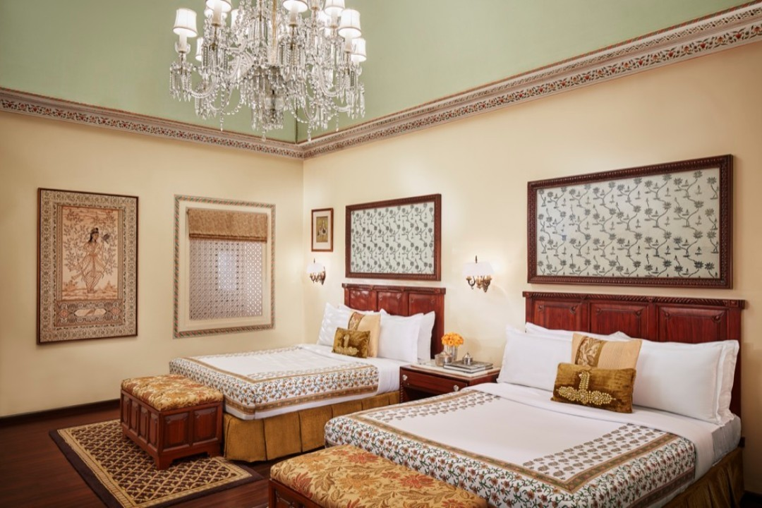 Taj Jai Mahal Palace Jaipur India Crystal Suite 1
