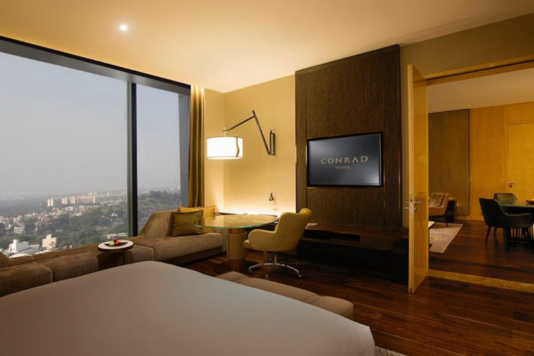 Conrad Pune India Deluxe Suite 1