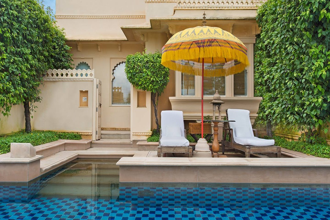 The Oberoi Udaivilas Udaipur India Premium room With Semi Private Pool 1