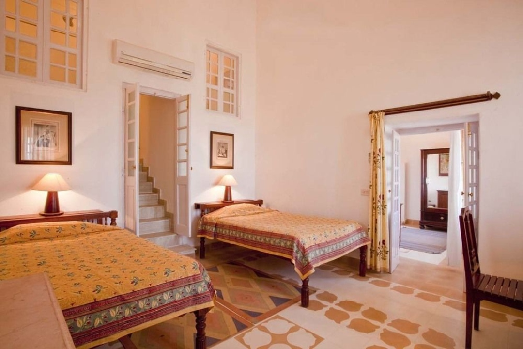 Neemrana Fort Palace Rajasthan India Wing I Rooms 1