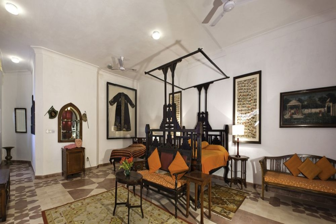 Neemrana Fort Palace Rajasthan India Wing II Rooms 1