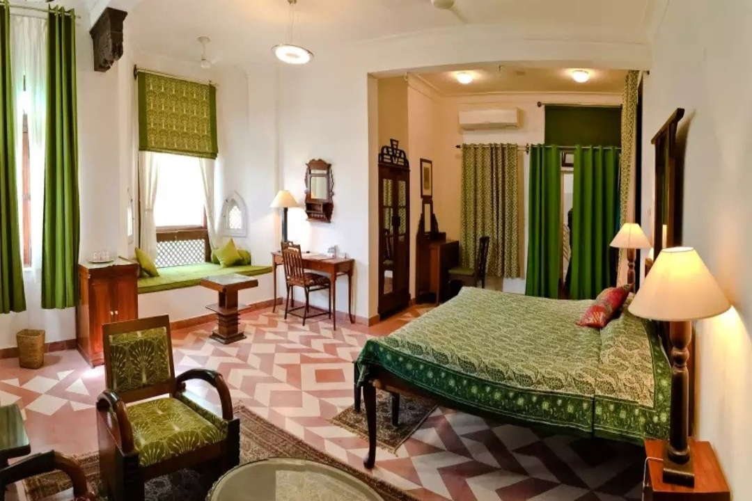 Neemrana Fort Palace Rajasthan India Wing III Rooms 1
