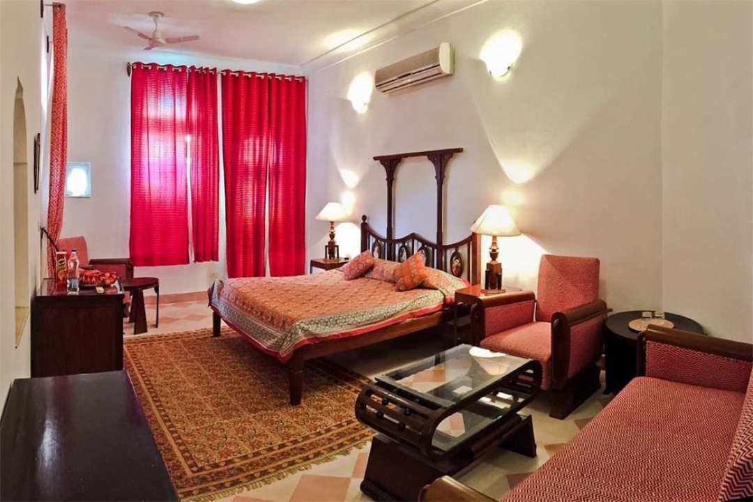 Neemrana Fort Palace Rajasthan India Wing IX Rooms 1